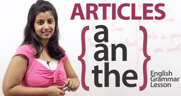 Rules behind use of Articles in English Grammar with Examples
