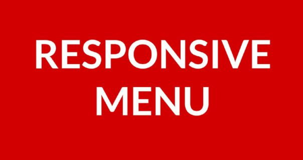 Example of Simple Horizontal Bootstrap Responsive Menu
