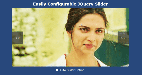 Simple responsive Jquery image Slider without using plugin