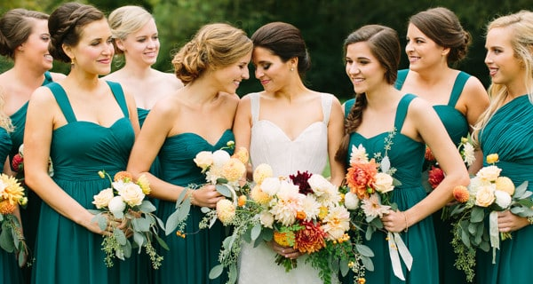 The Bridesmaids should prepare the things until the last Minutes