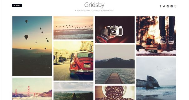 Example to Create responsive Bootstrap image Gallery