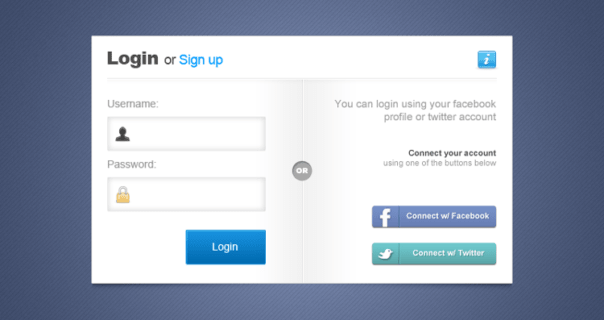 Responsive Mobile First Bootstrap Login Page Example
