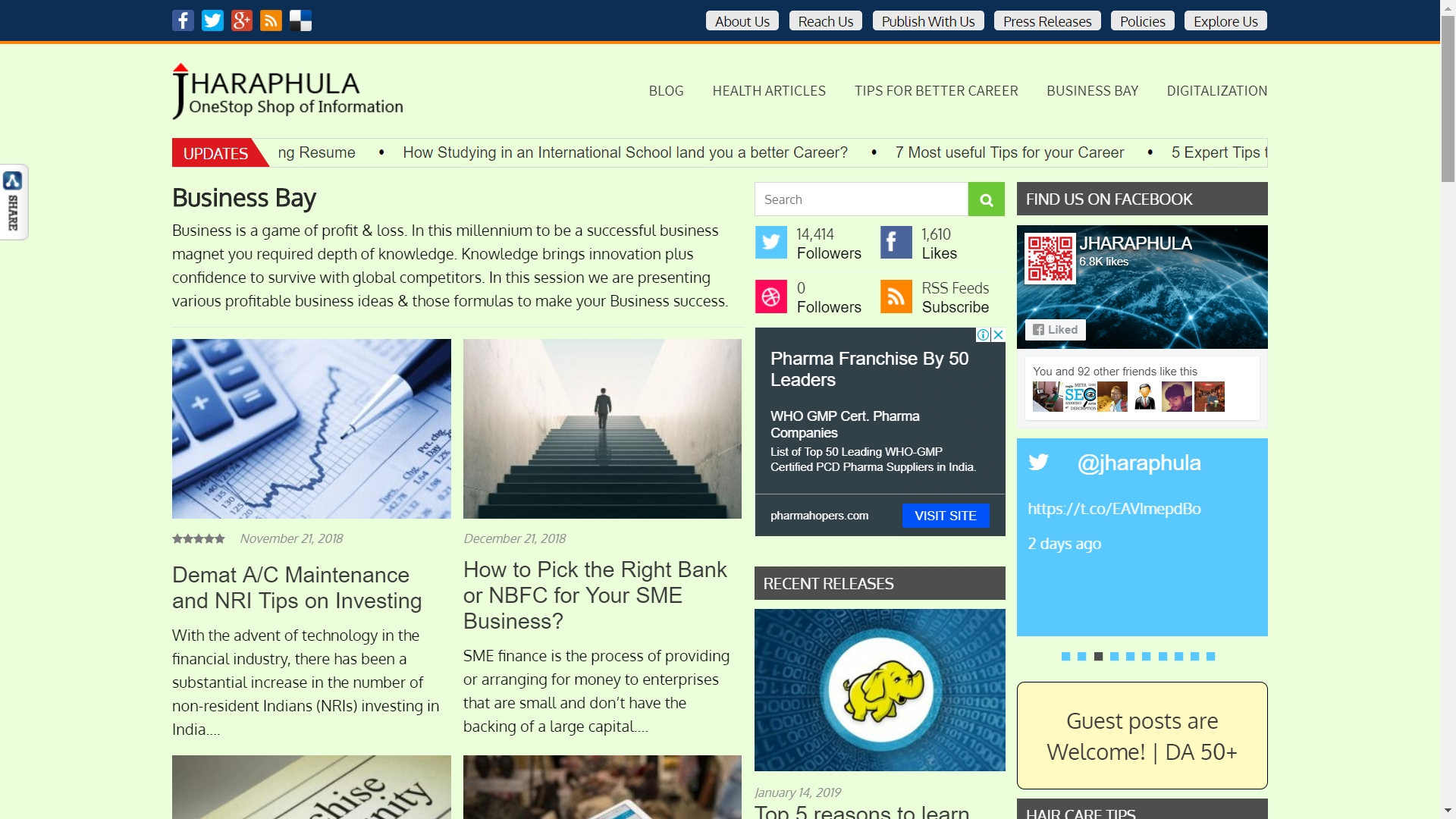 Premium Guest Blogging Service to boost Businesses Visibility
